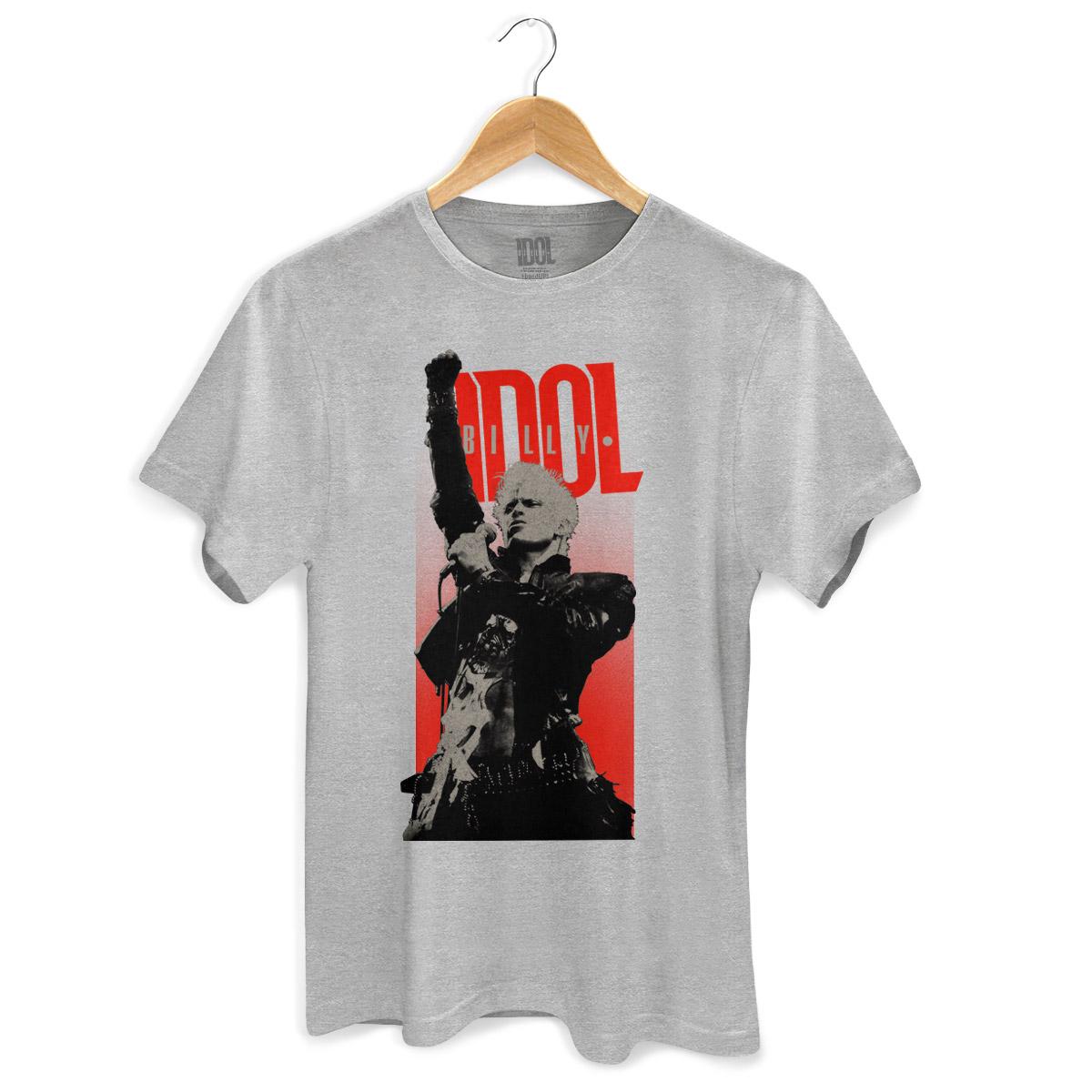 Camiseta Masculina Billy Idol Sing