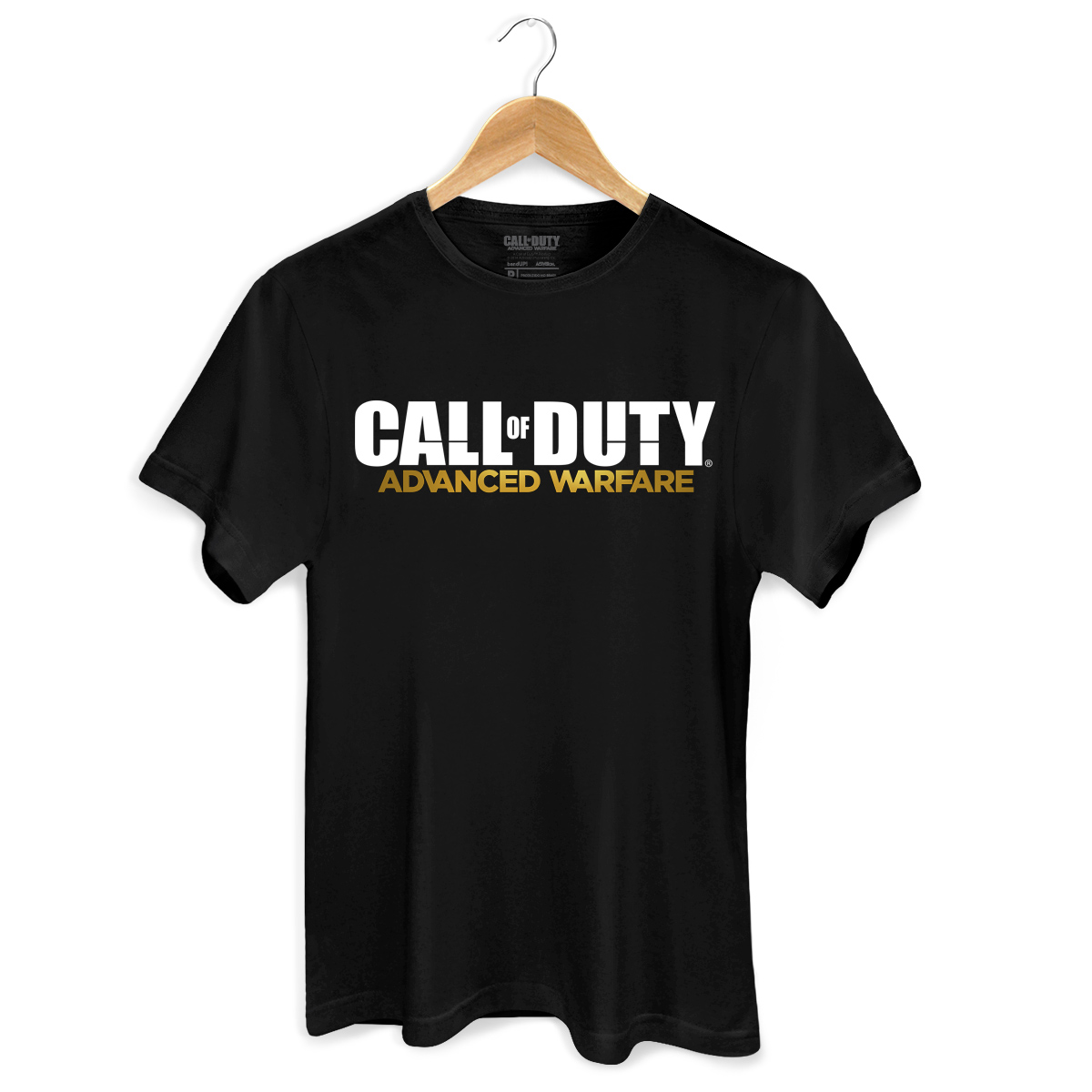 Camiseta Masculina Call Of Duty Logo