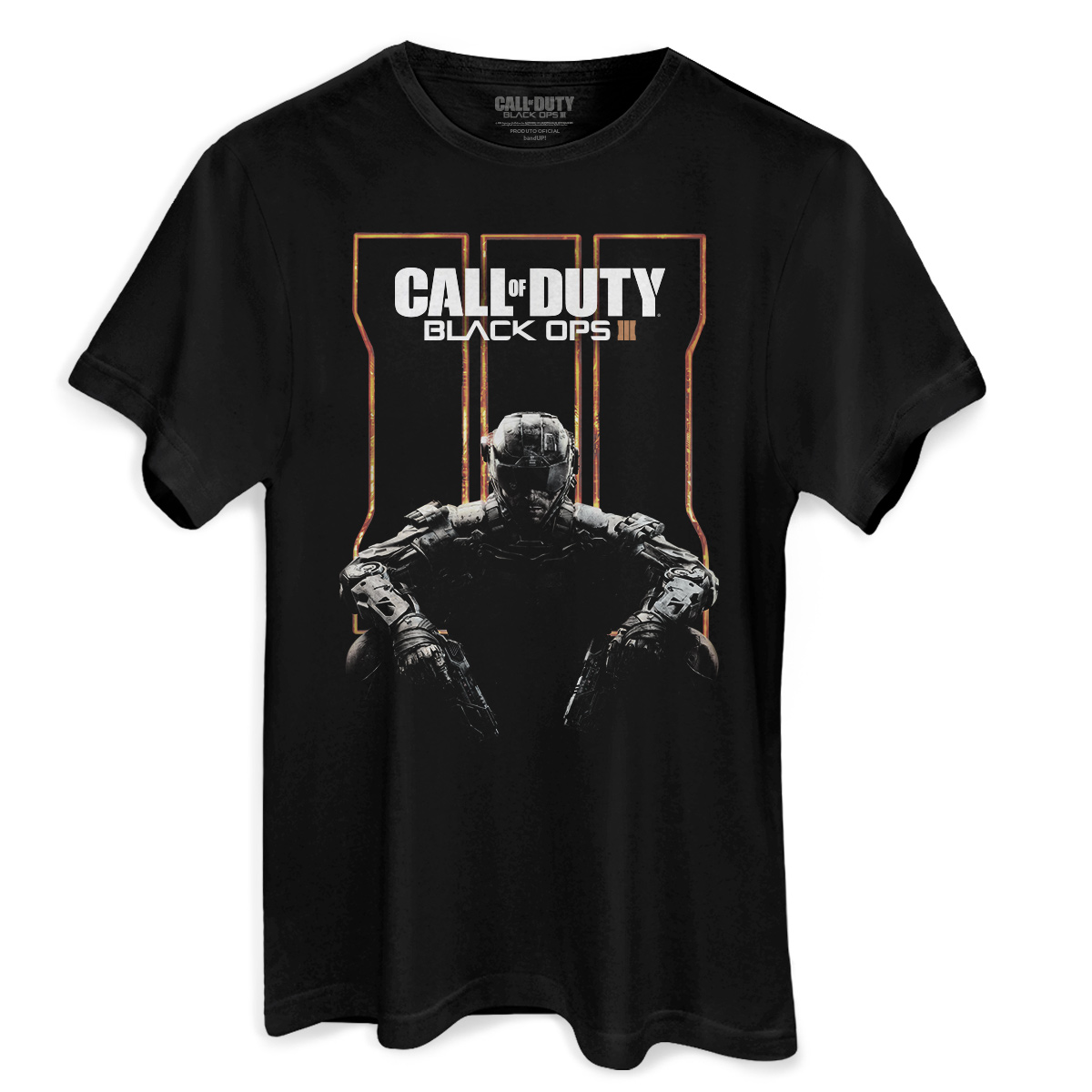 Camiseta Masculina Call Of Duty Soldier