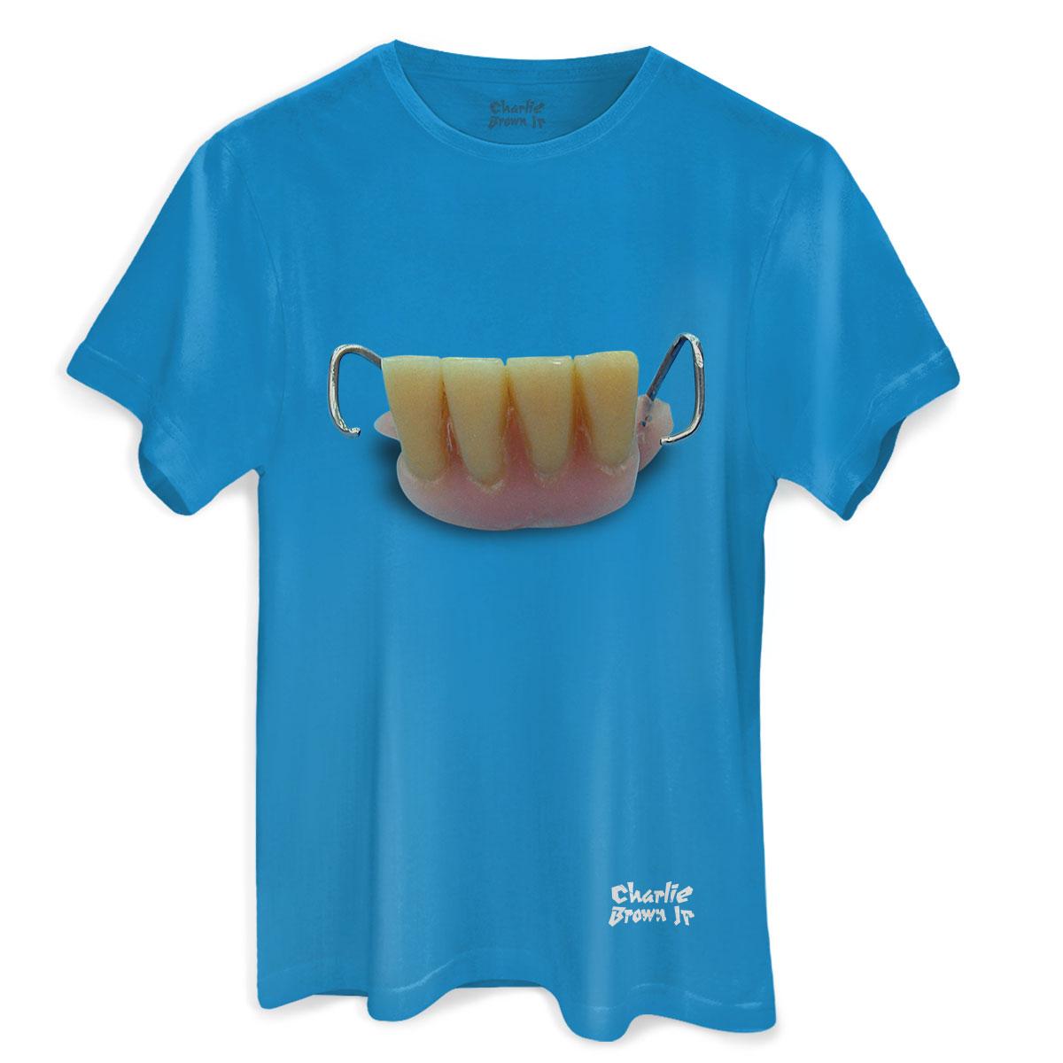 Camiseta Masculina Charlie Brown Jr. Bocas Ordinárias