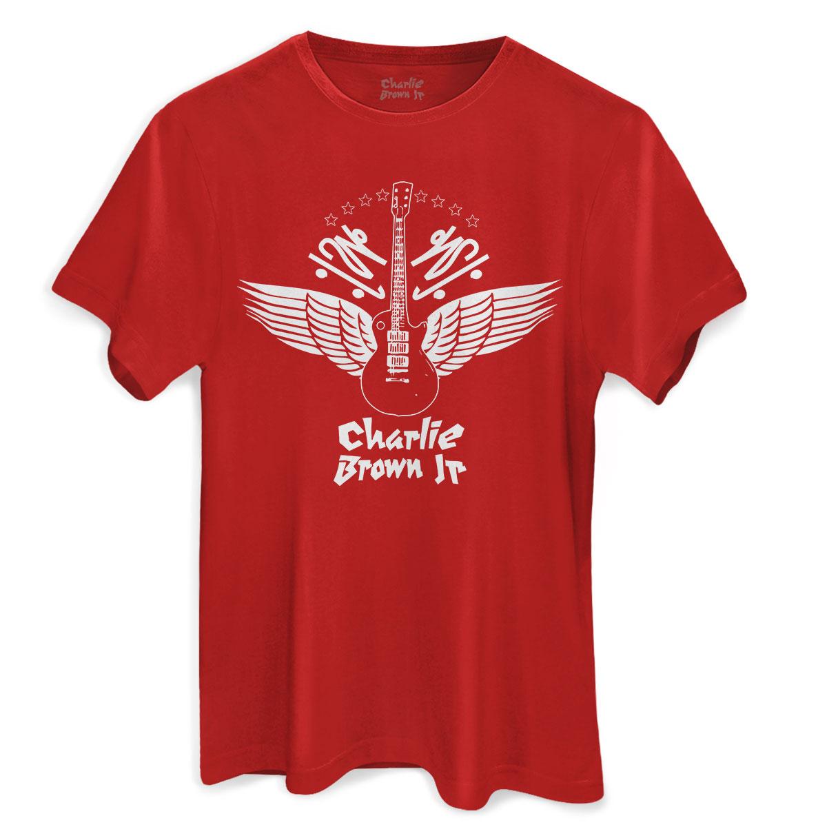 Camiseta Masculina Charlie Brown Jr. Imunidade Musical