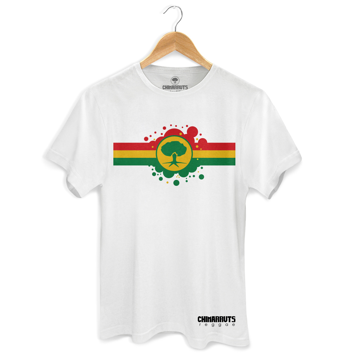 Camiseta Masculina Chimarruts Reggae