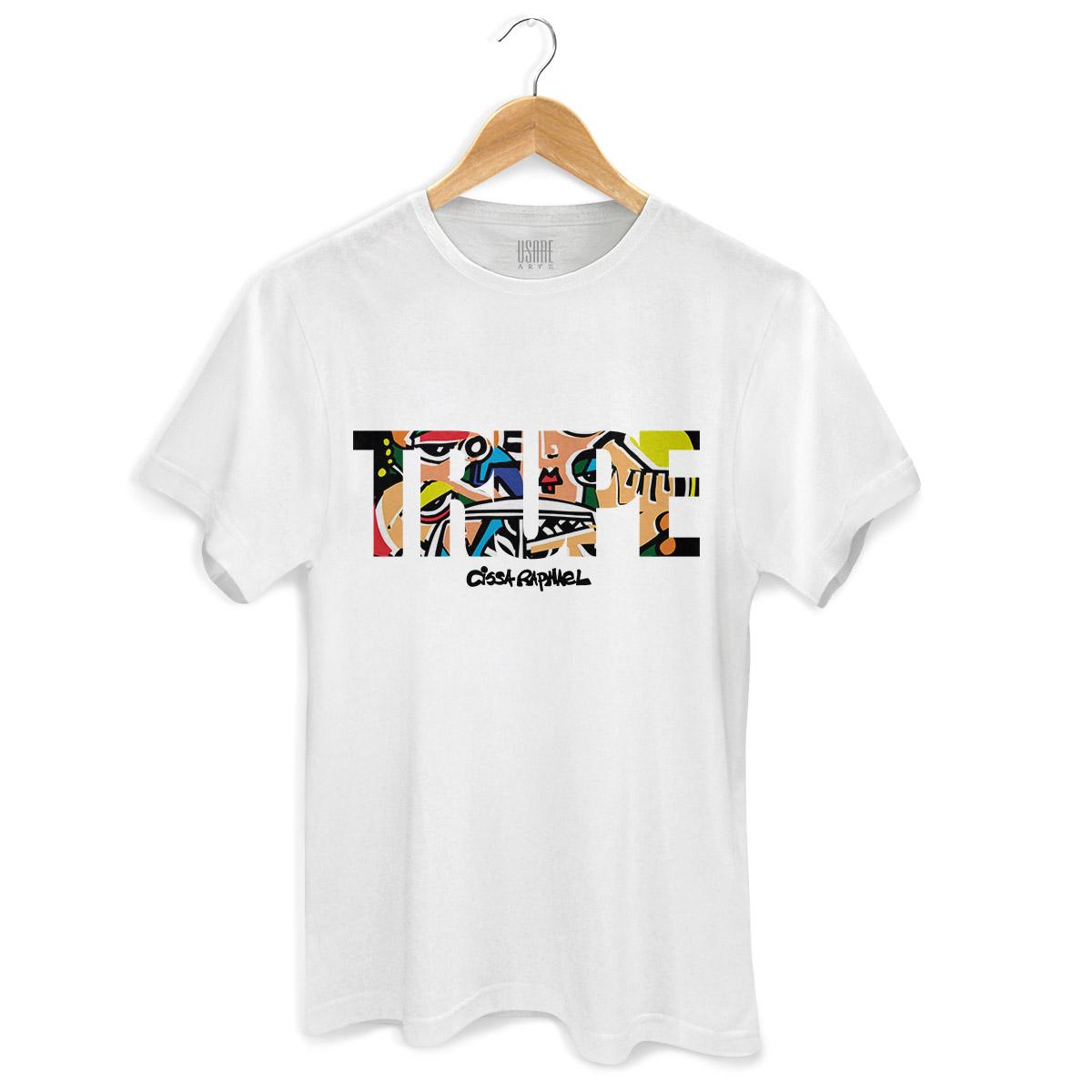 Camiseta Masculina Cissa Raphael Trupe Type