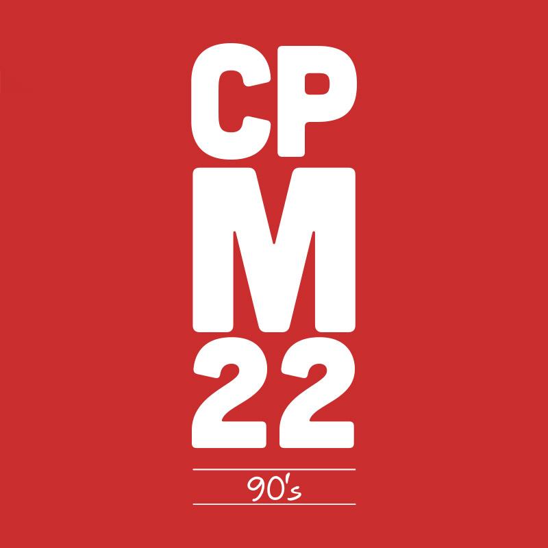 Camiseta Masculina CPM 22 90´s Vermelha
