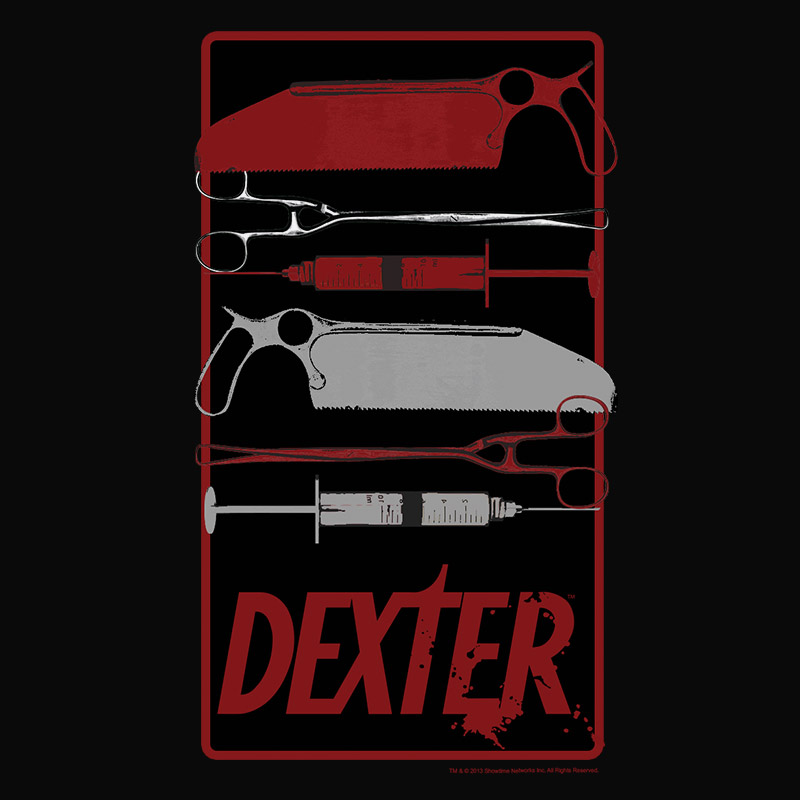 Camiseta Masculina Dexter Elements Dead