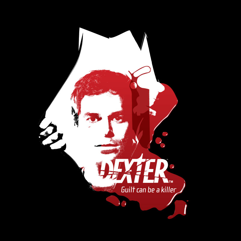 Camiseta Masculina Dexter Guilt Can Be a Killer