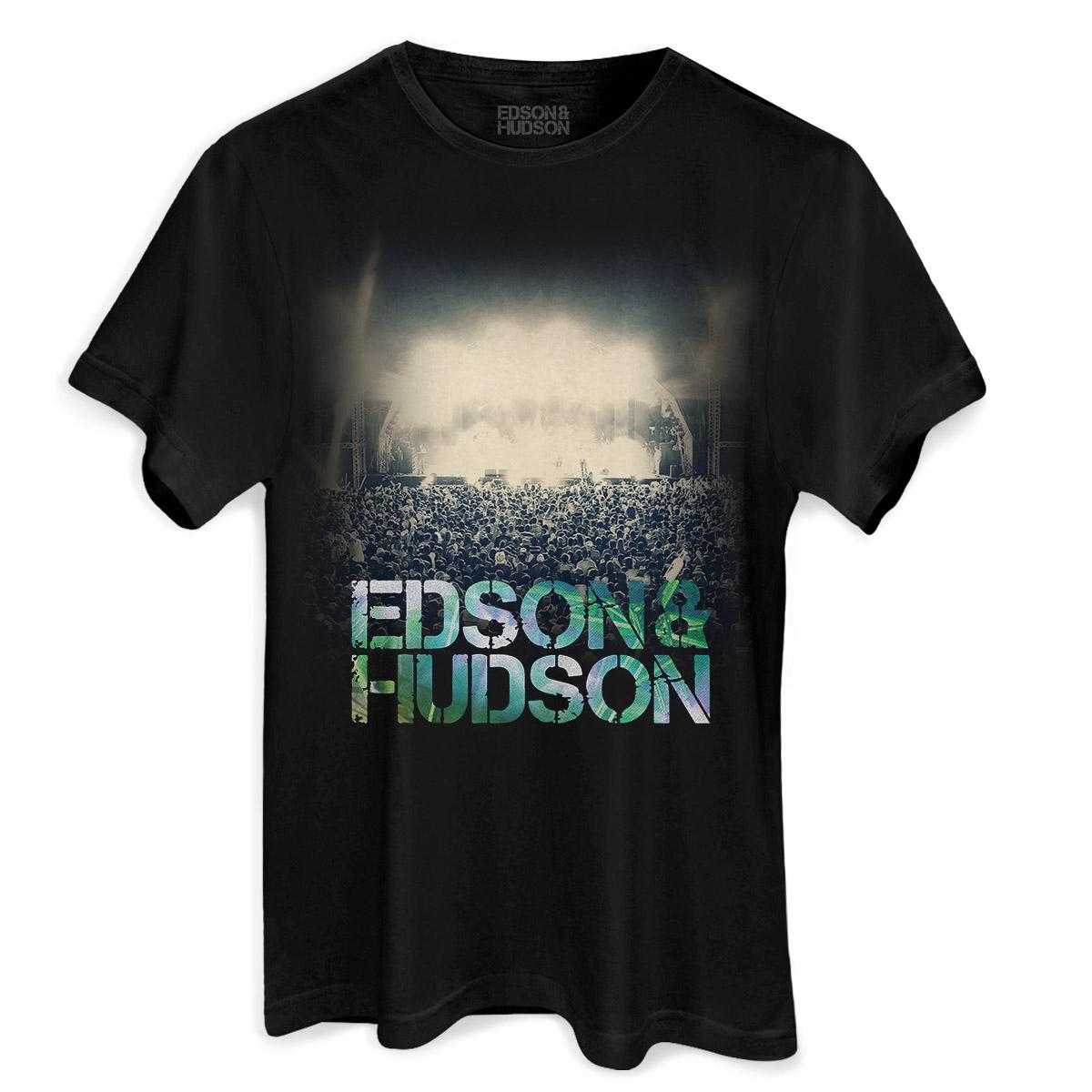 Camiseta Masculina Edson & Hudson Show