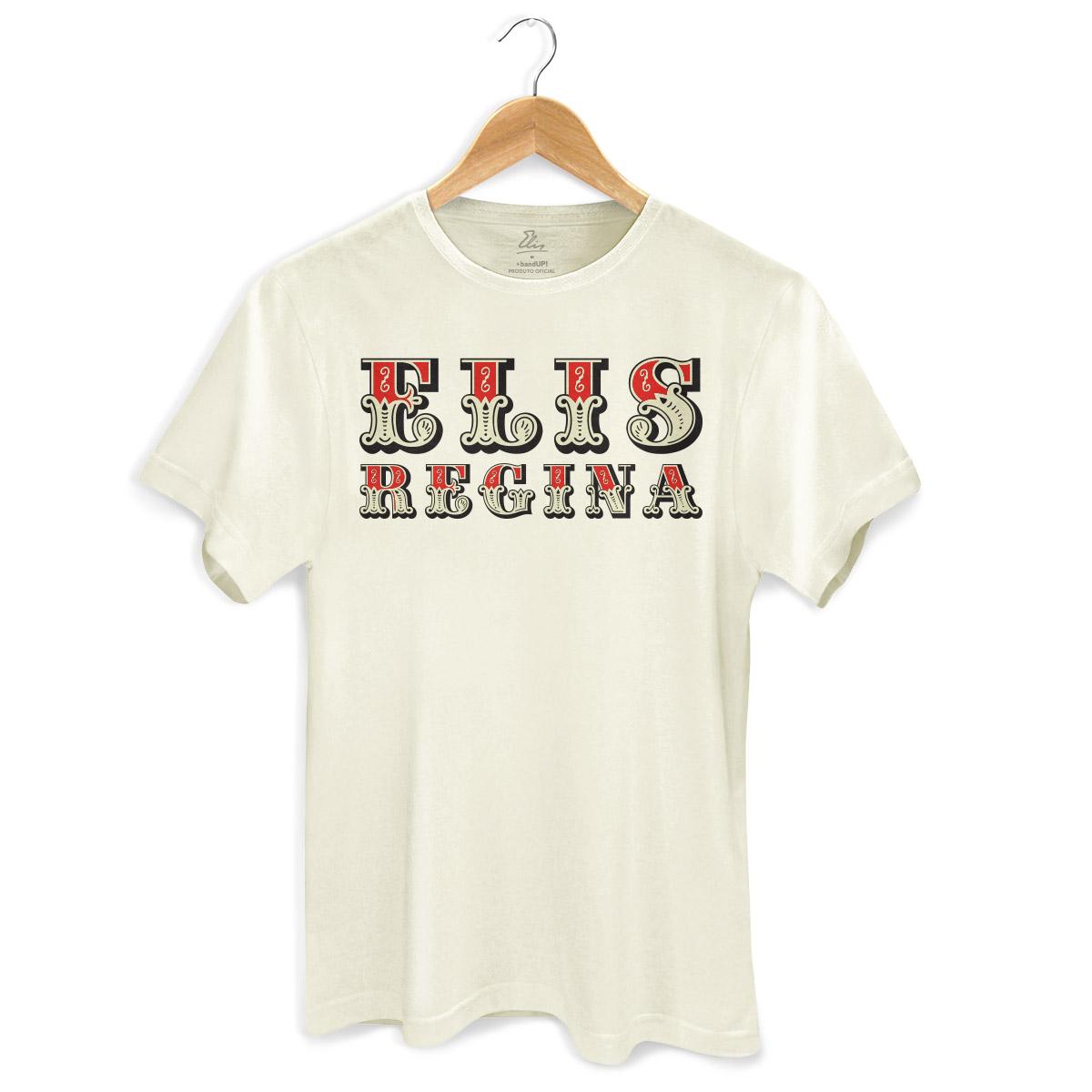 Camiseta Masculina Elis Regina Falso Brilhante