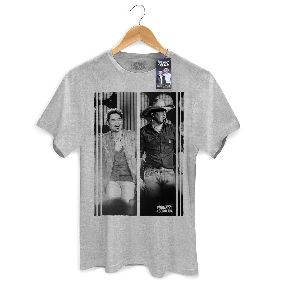 Camiseta Masculina Fernando & Sorocaba Foto