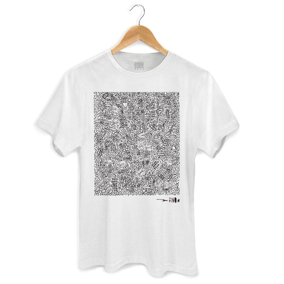 Camiseta Masculina Fino Farofa de Religião