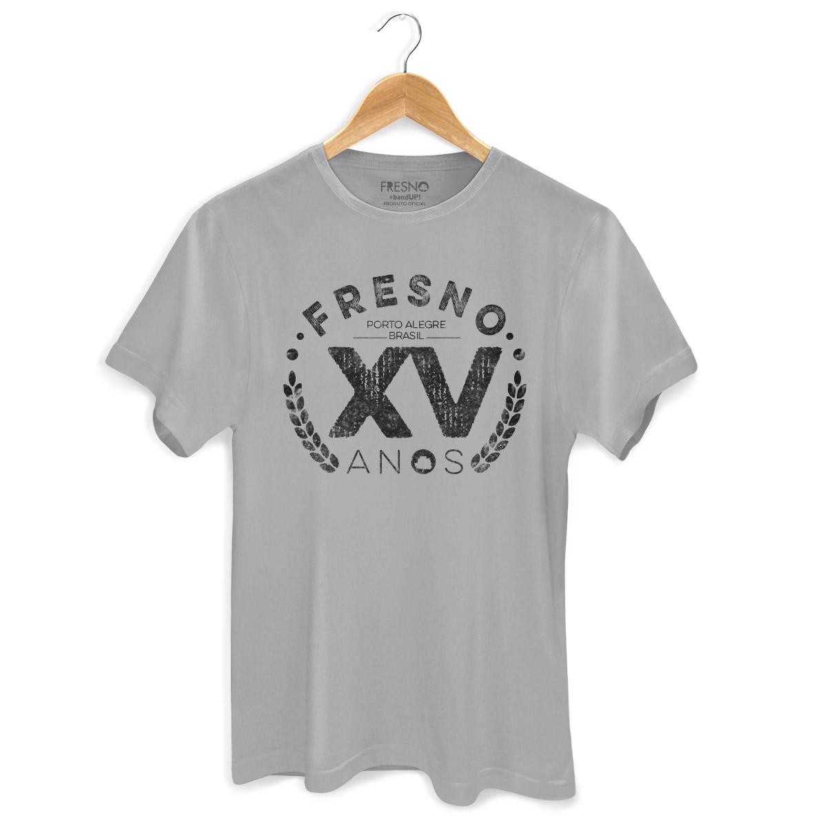 Camiseta Masculina Fresno 15 Anos Gray