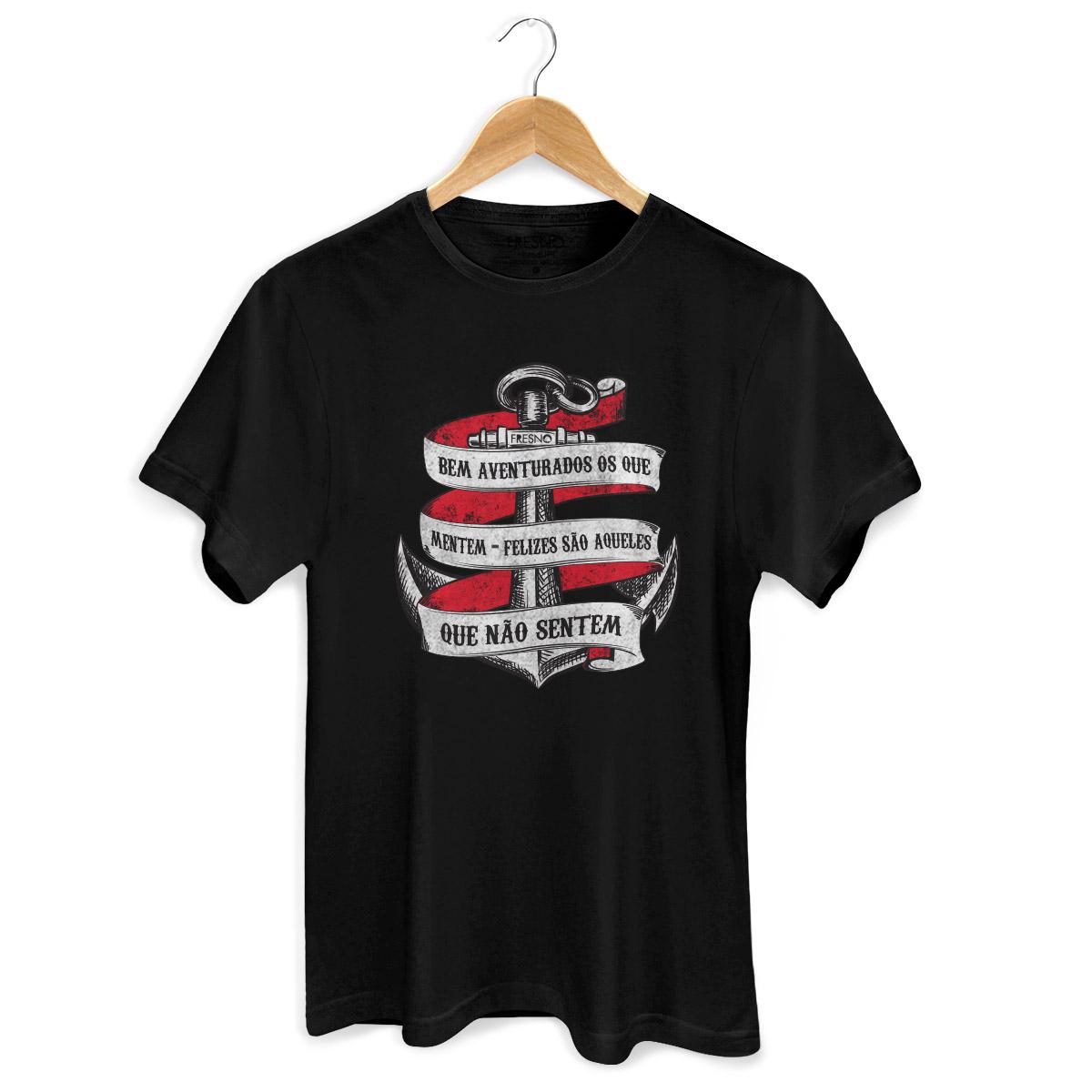 Camiseta Masculina Fresno Bem Aventurados os Que Mentem 2