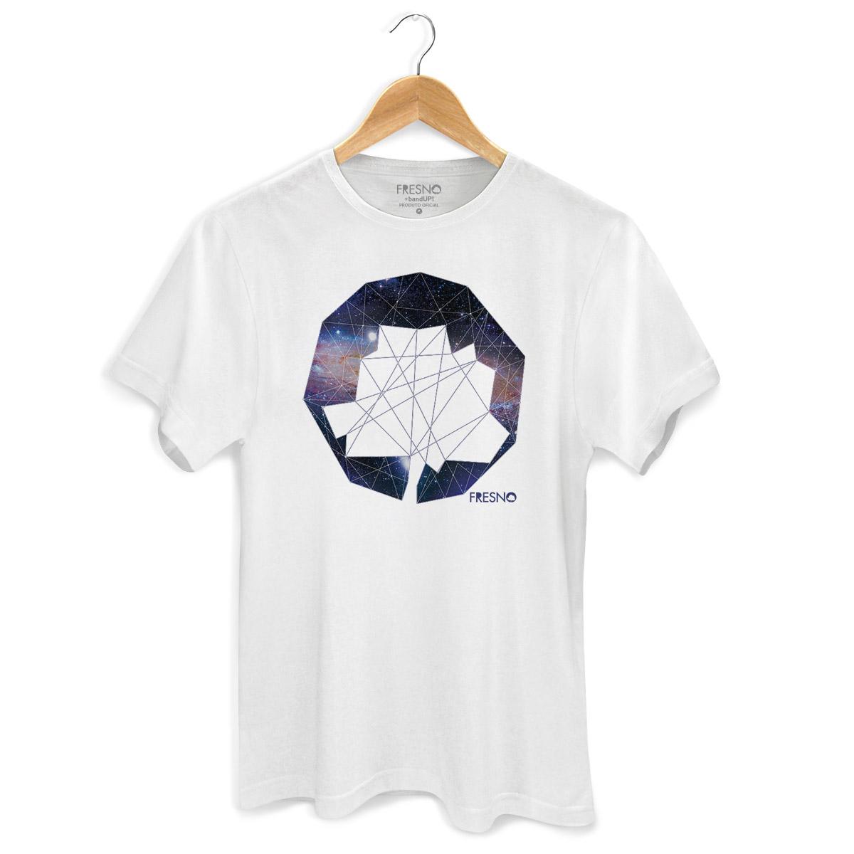 Camiseta Masculina Fresno Logo Galáxias