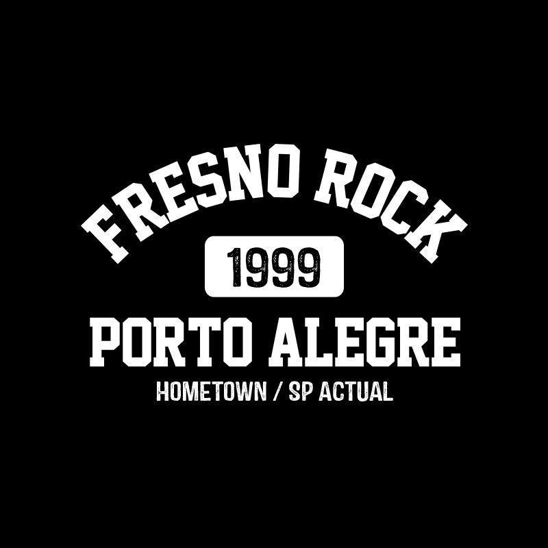 Camiseta Masculina Fresno Rock 2