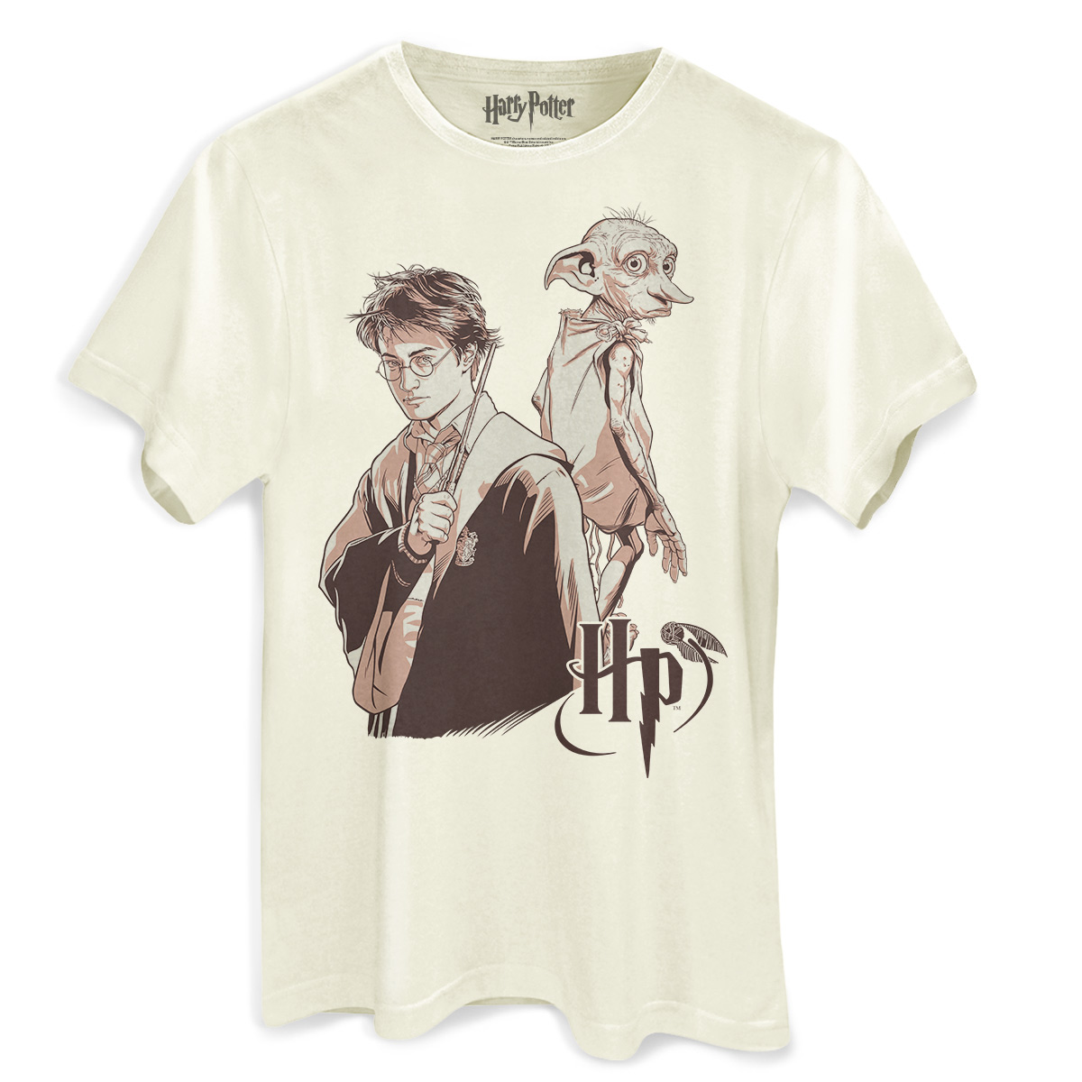 Camiseta Masculina Harry Potter Dobby