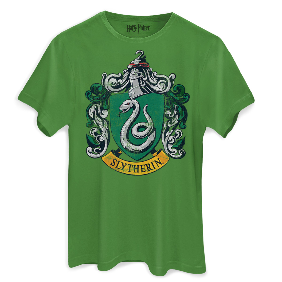 Camiseta Masculina Harry Potter Slytherin