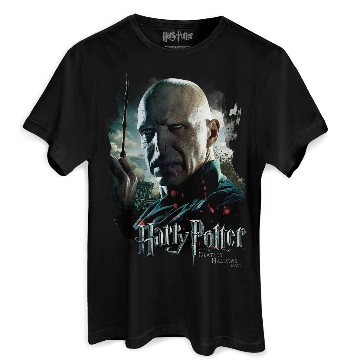 Camiseta Masculina Harry Potter Voldemort