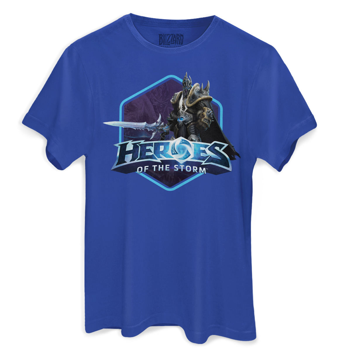 Camiseta Masculina Heroes Of The Storm Arthas