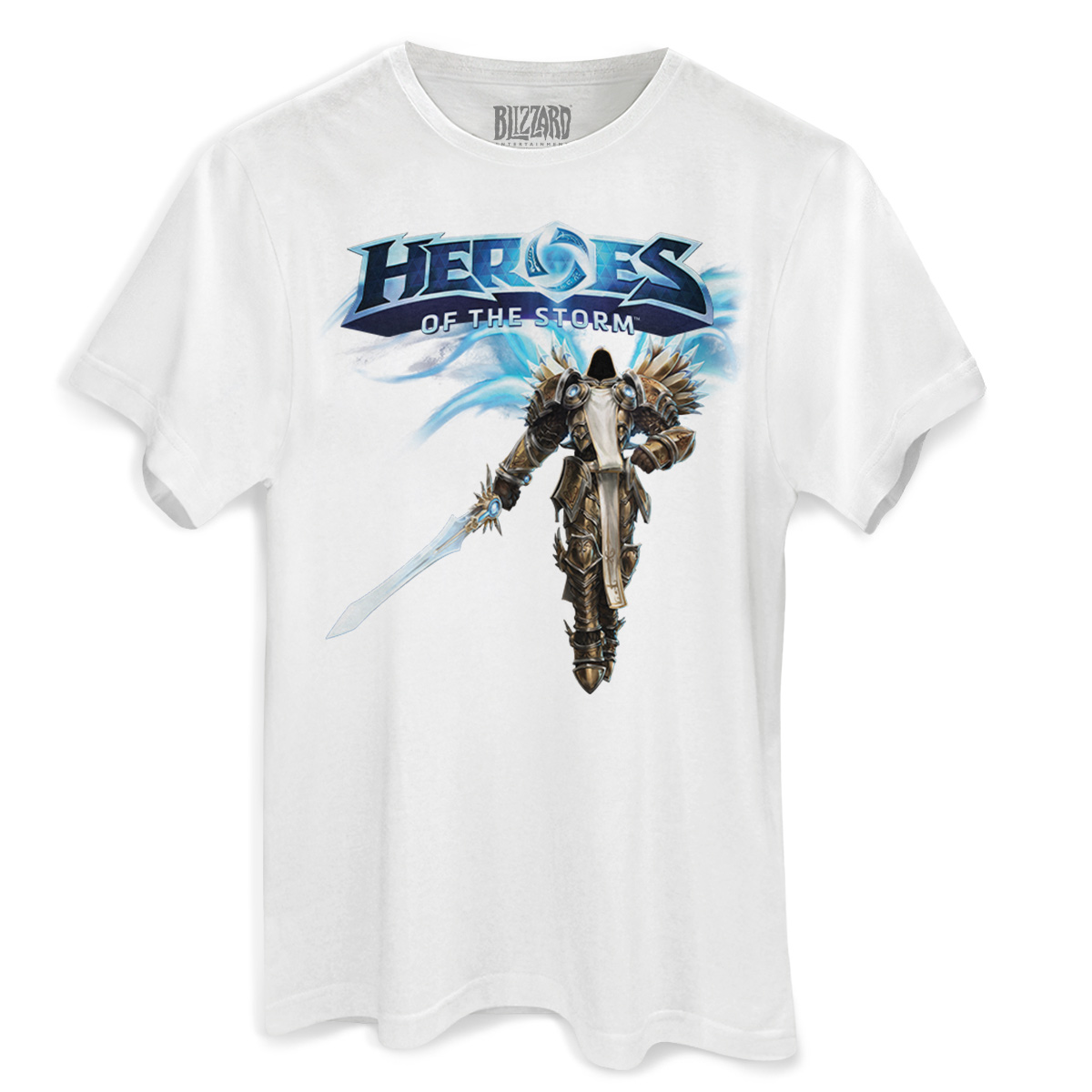 Camiseta Masculina Heroes Of The Storm Tyrael