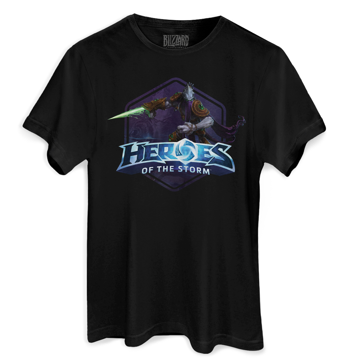Camiseta Masculina Heroes Of The Storm Zeratul