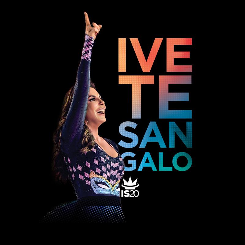 Camiseta Masculina Ivete Sangalo Capa 20 Anos