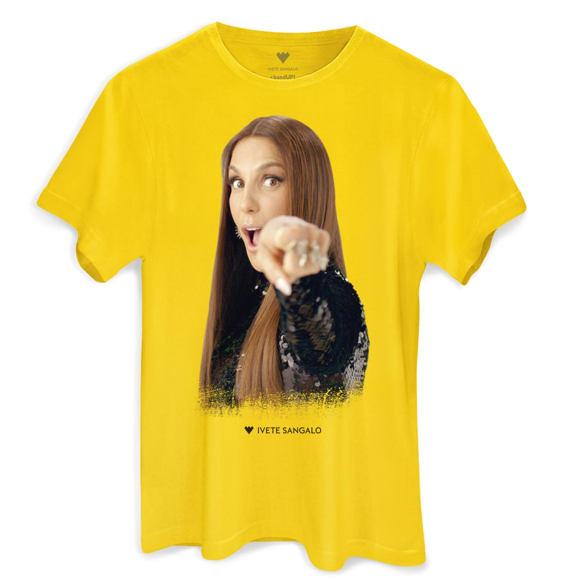 Camiseta Masculina Ivete Sangalo Curta o Meu Som