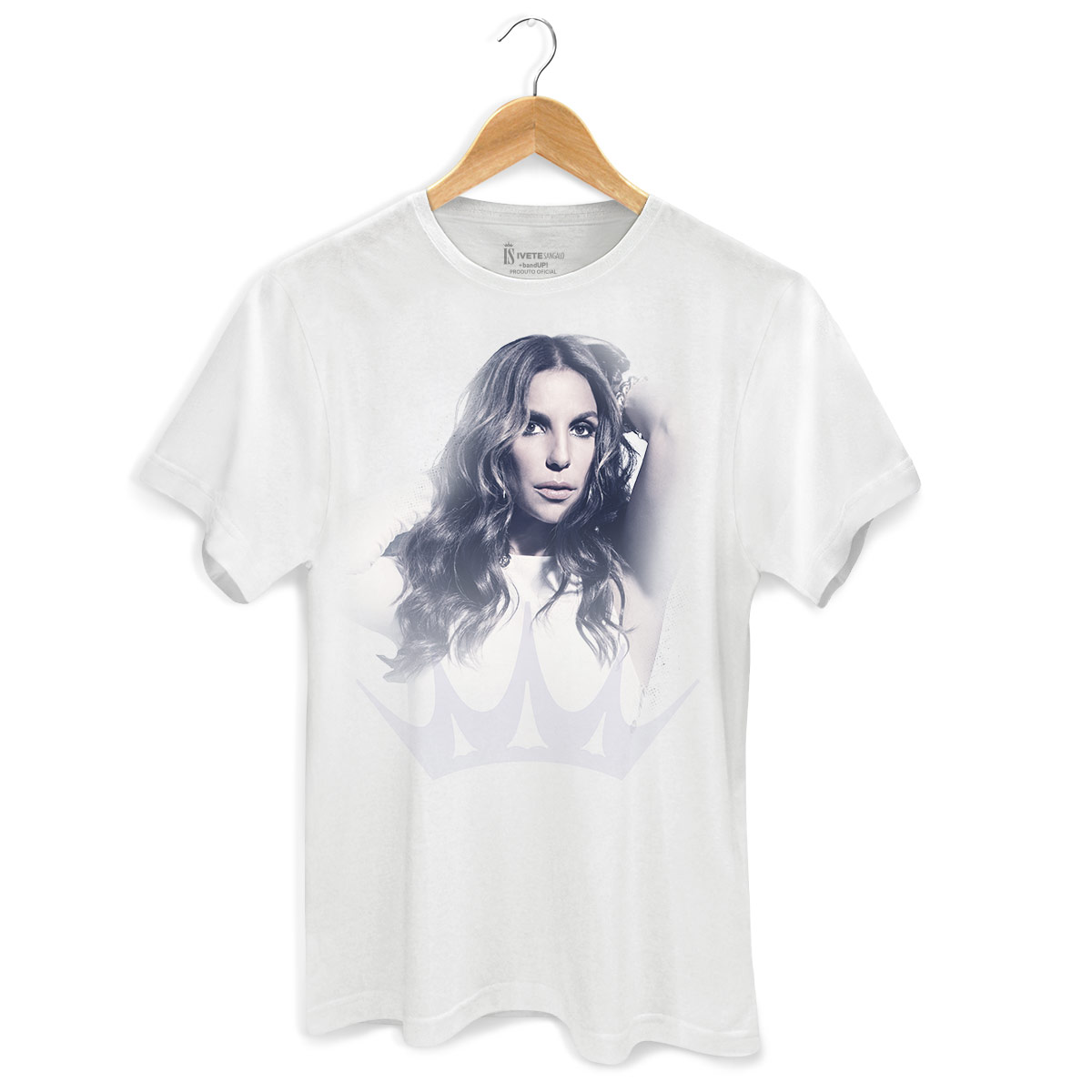 Camiseta Masculina Ivete Sangalo Rainha