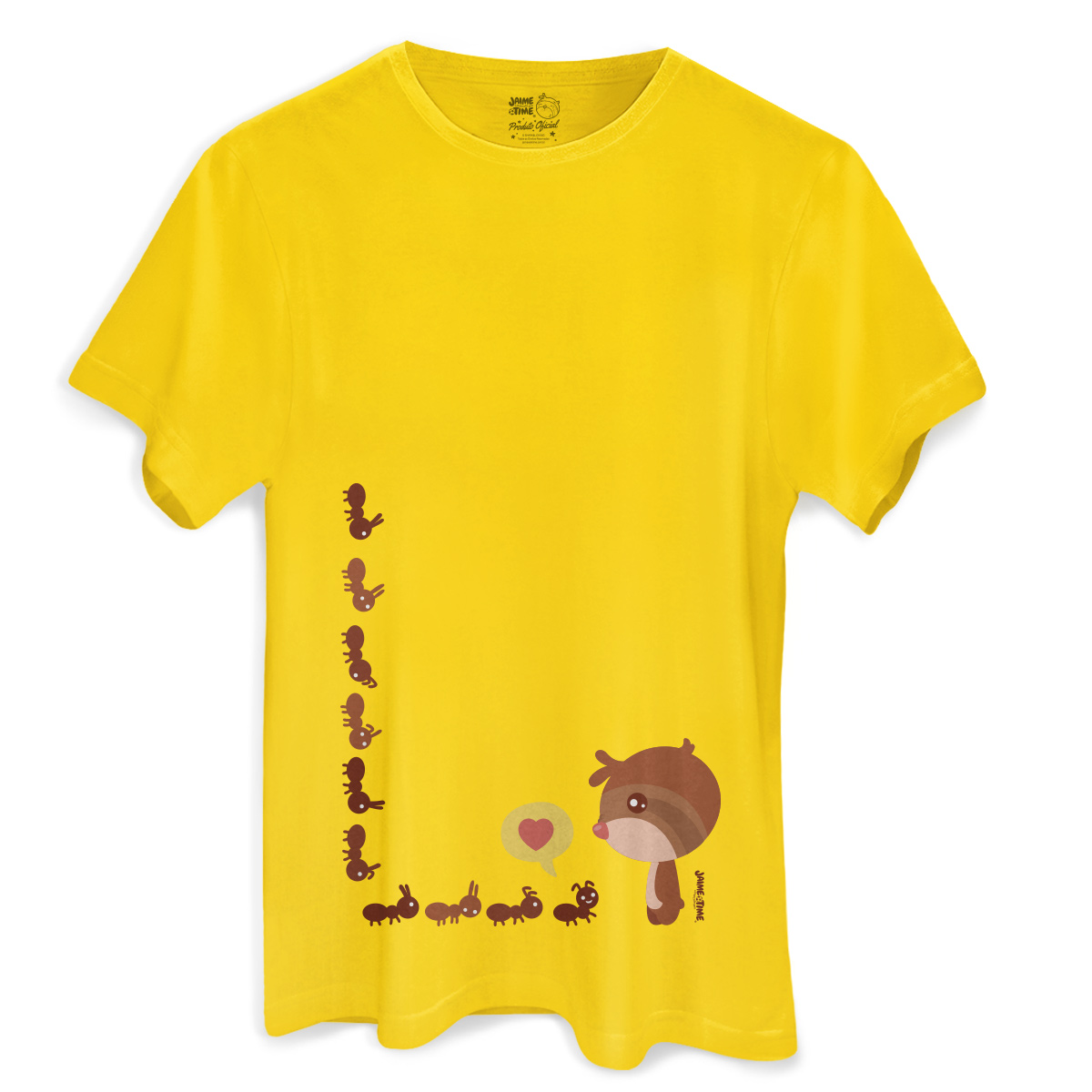 Camiseta Masculina Jaime Formigas