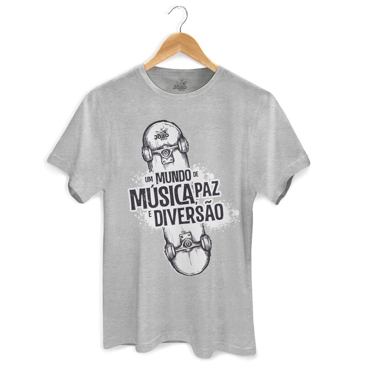 Camiseta Masculina João Rock Skate