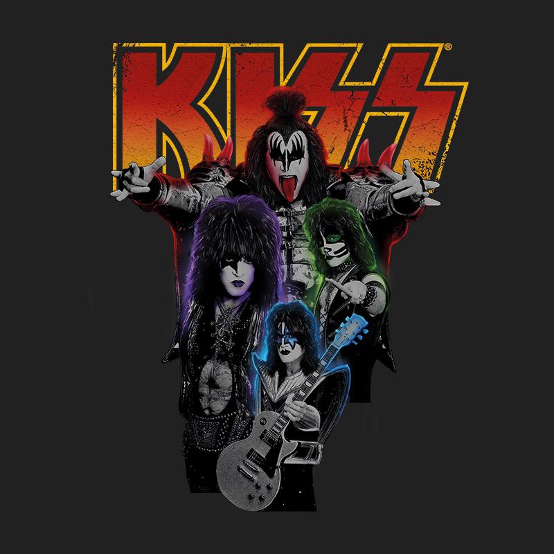 Camiseta Masculina Kiss Kissology Basic