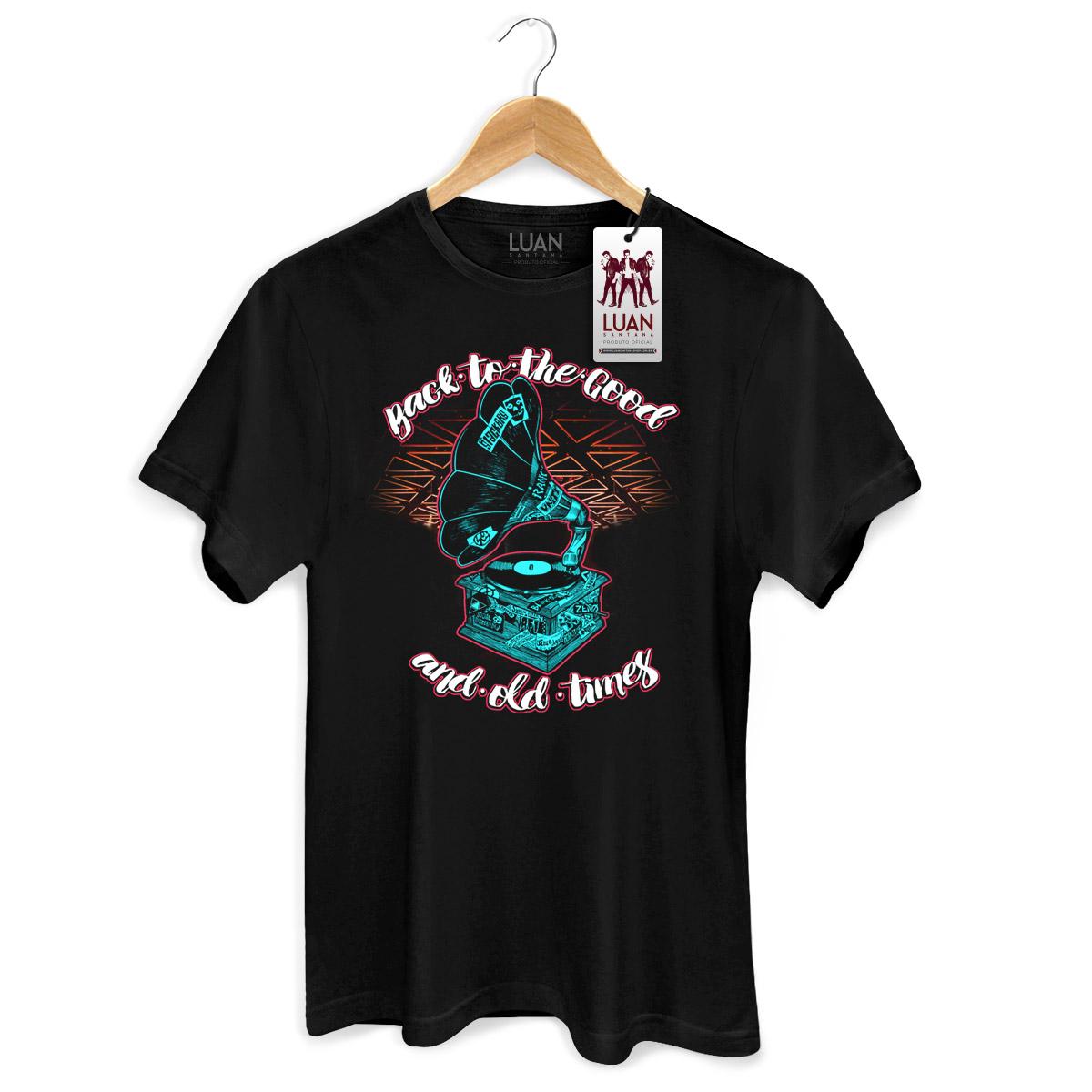 Camiseta Masculina Luan Santana Back To The Good And Old Times