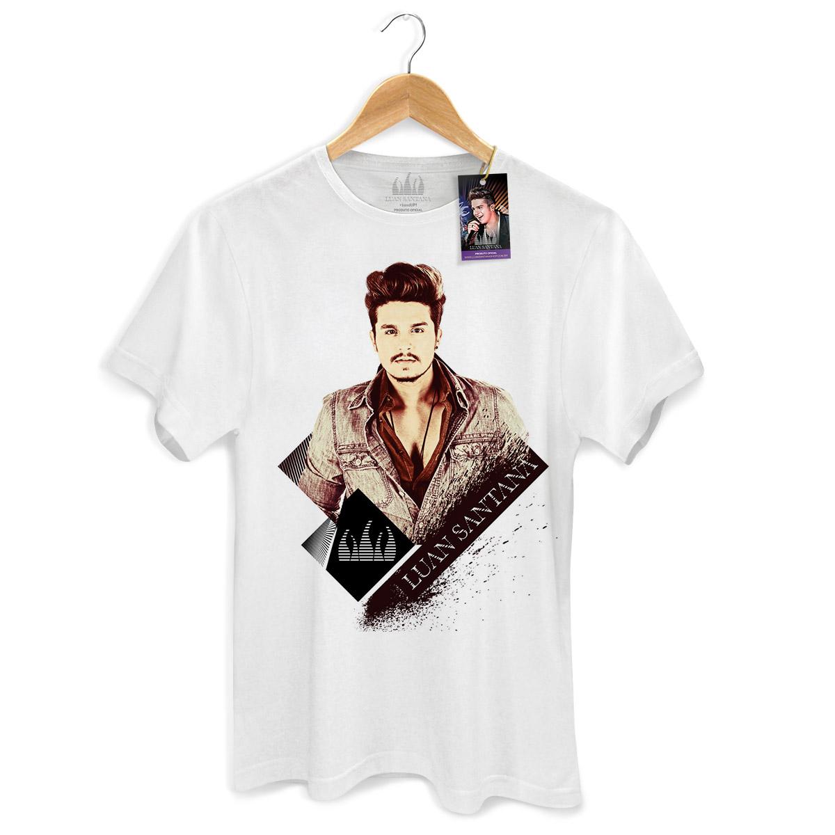 Camiseta Masculina Luan Santana Vintage