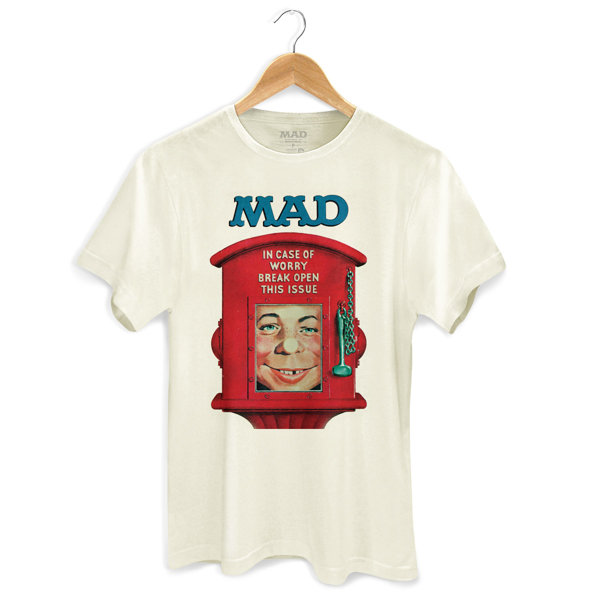 Camiseta Masculina MAD In Case Of Worry