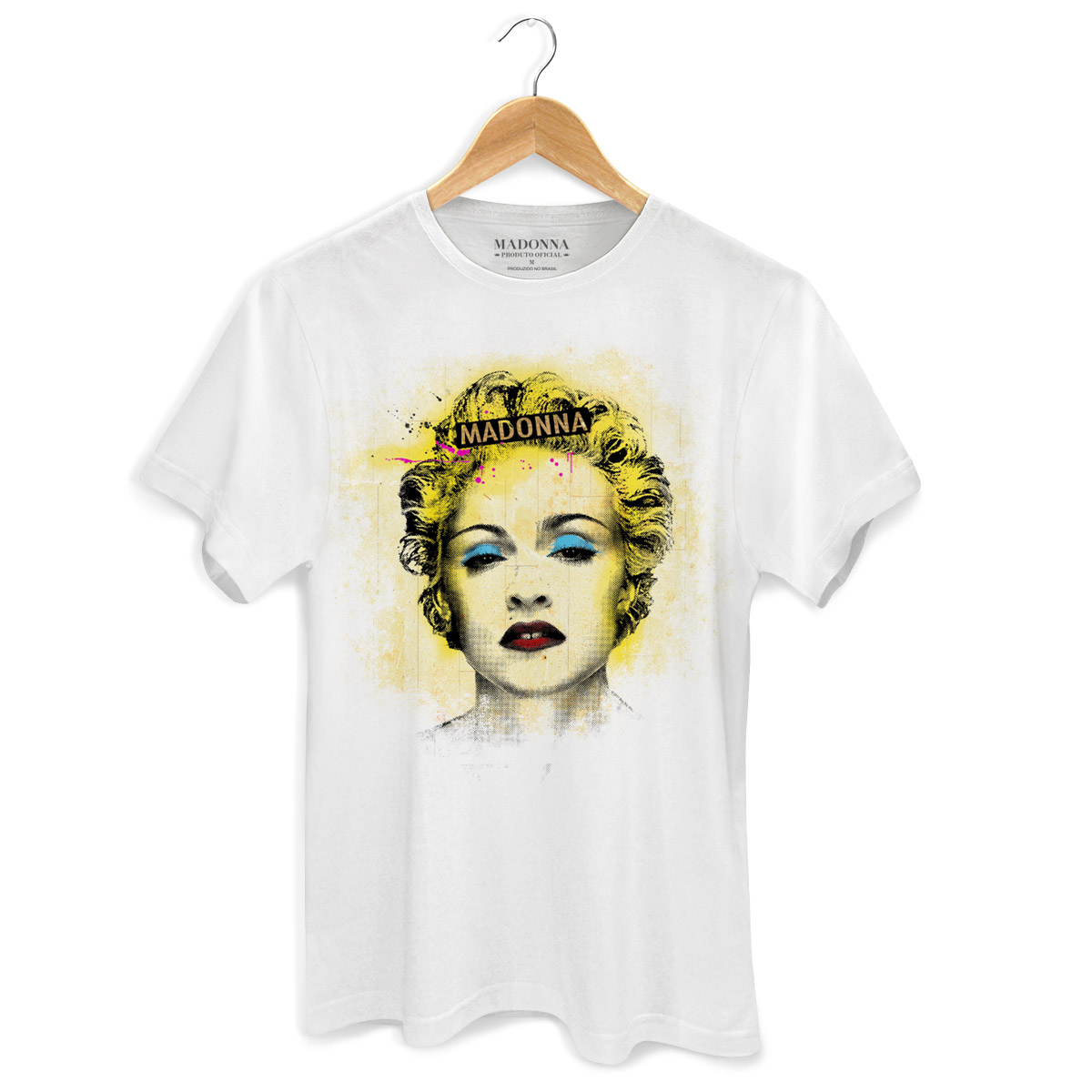 Camiseta Masculina Madonna Celebration