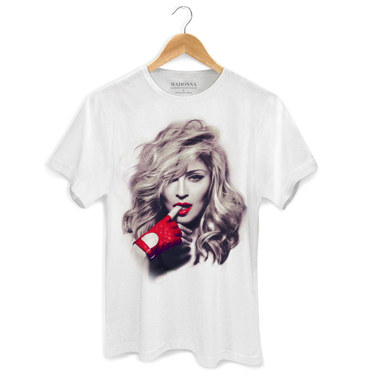 Camiseta Masculina Madonna Girl Gone Wild Photo