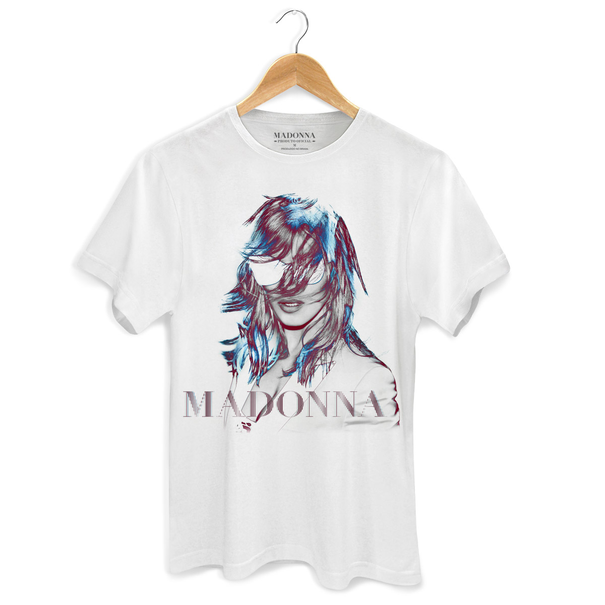 Camiseta Masculina Madonna MDNA Tour Graphic