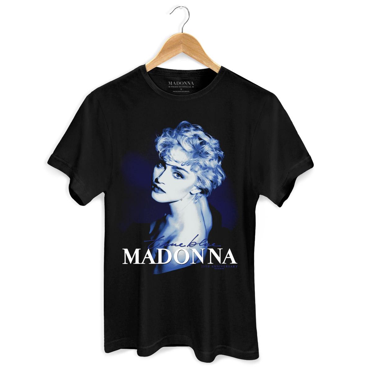 Camiseta Masculina Madonna True Blue