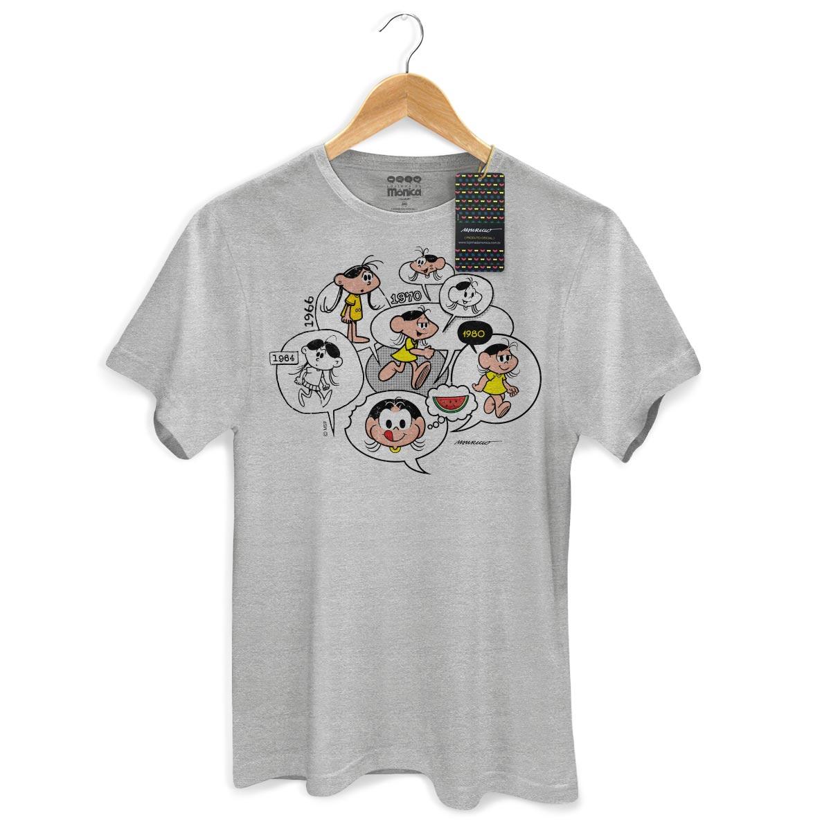 Camiseta Masculina Magali 50 Anos Since 1964