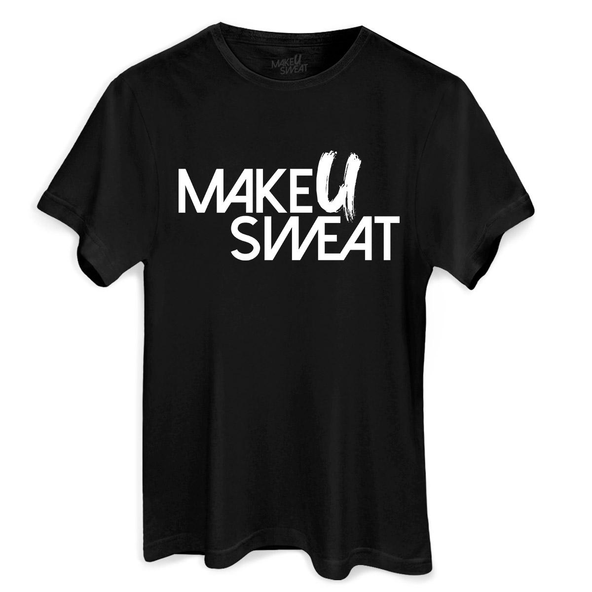 Camiseta Masculina Make U Sweat Logo