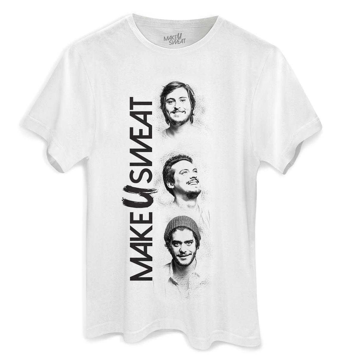 Camiseta Masculina Make U Sweat Trio