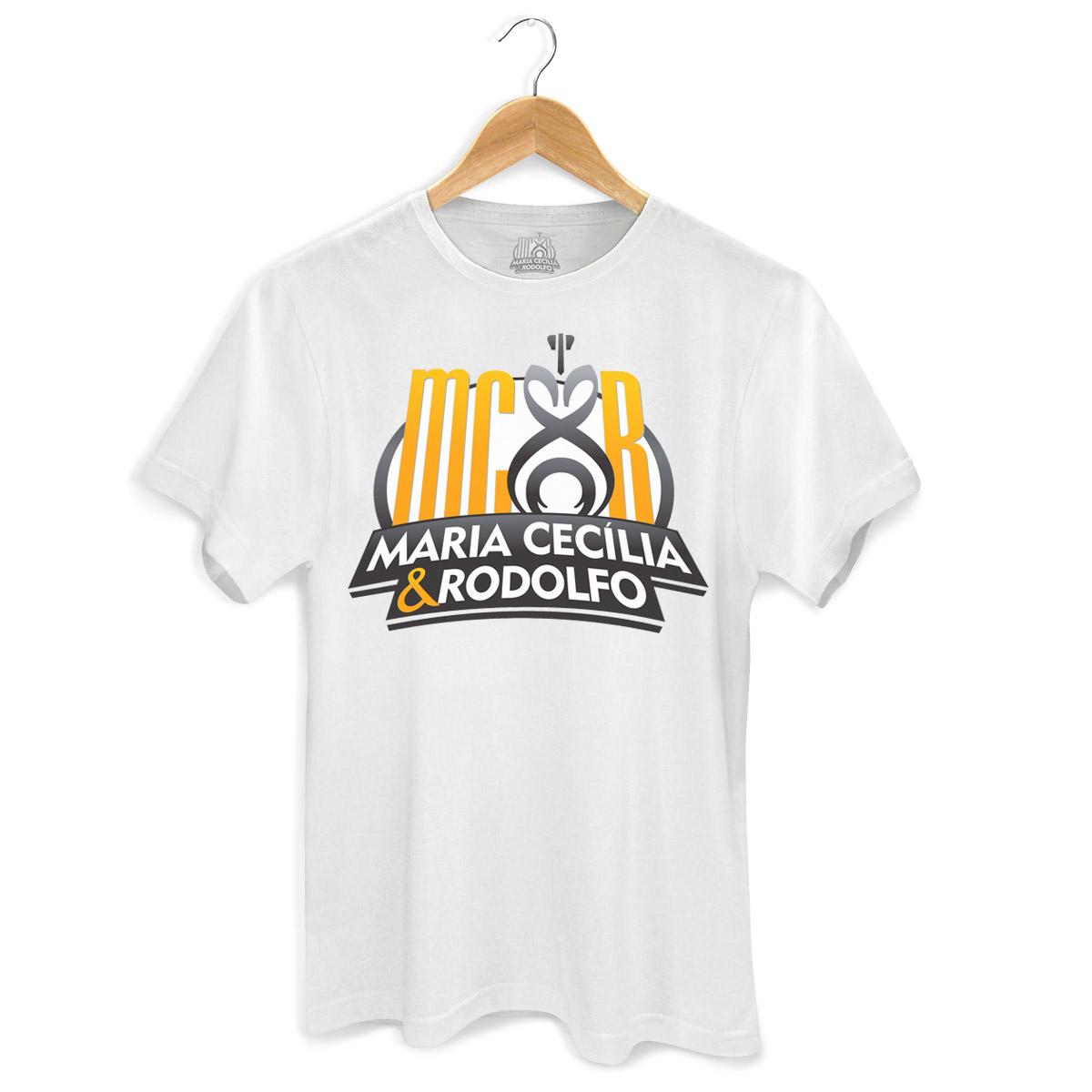 Camiseta Masculina Maria Cecília & Rodolfo Logo