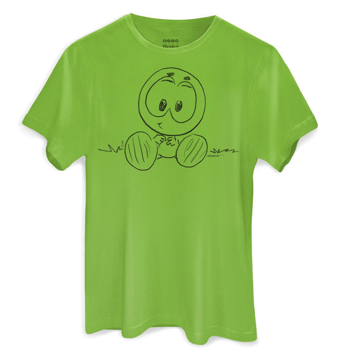 Camiseta Masculina Maurício de Sousa 80 Anos Horácio