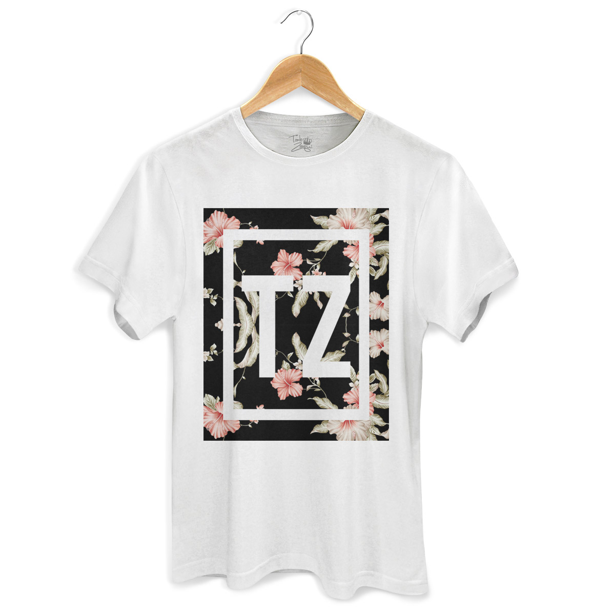 Camiseta Masculina MC Tati Zaqui Flowers