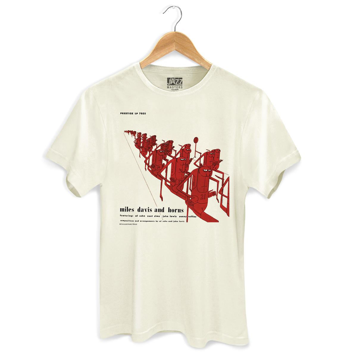 Camiseta Masculina Miles Davis And Horns
