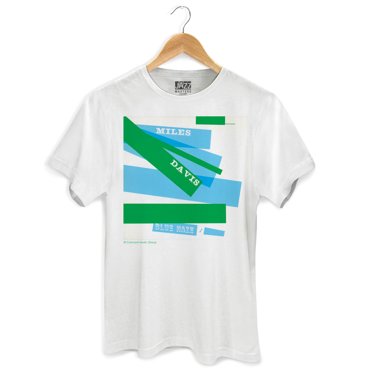 Camiseta Masculina Miles Davis Blue Haze 2