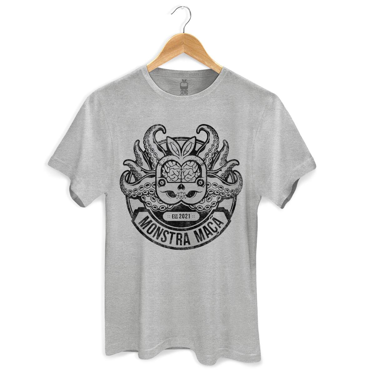 Camiseta Masculina Monstra Maçã Monster Octopus