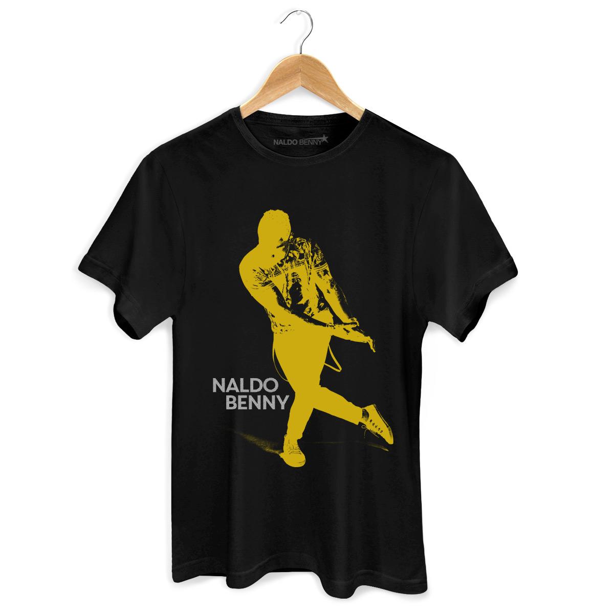 Camiseta Masculina Naldo Benny Se Joga Yellow