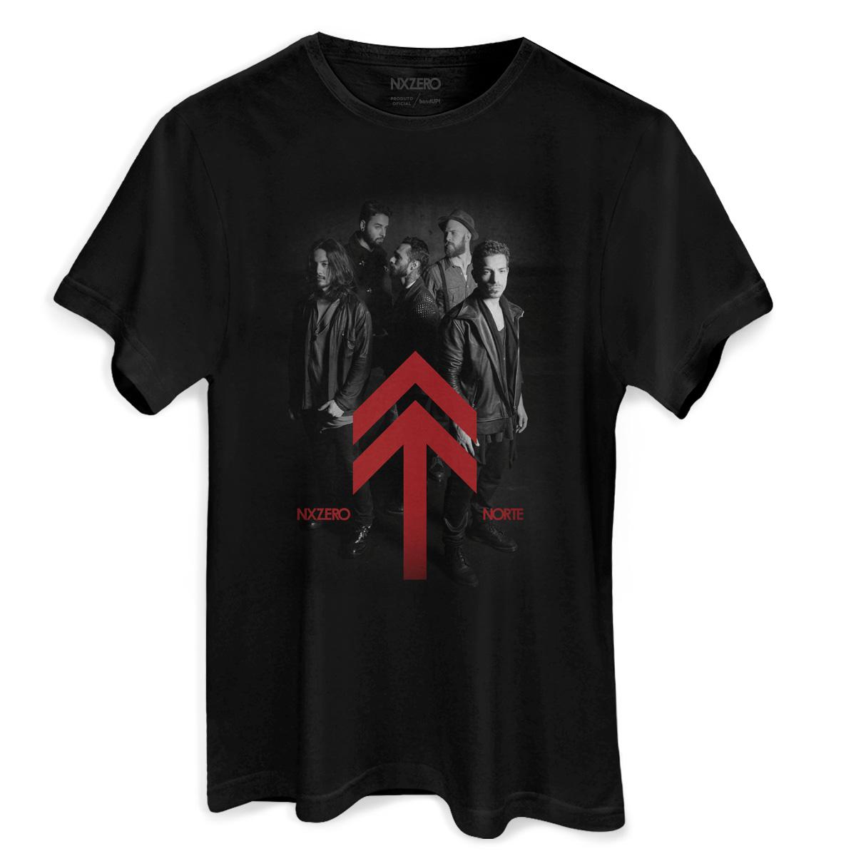 Camiseta Masculina NXZero Norte Foto