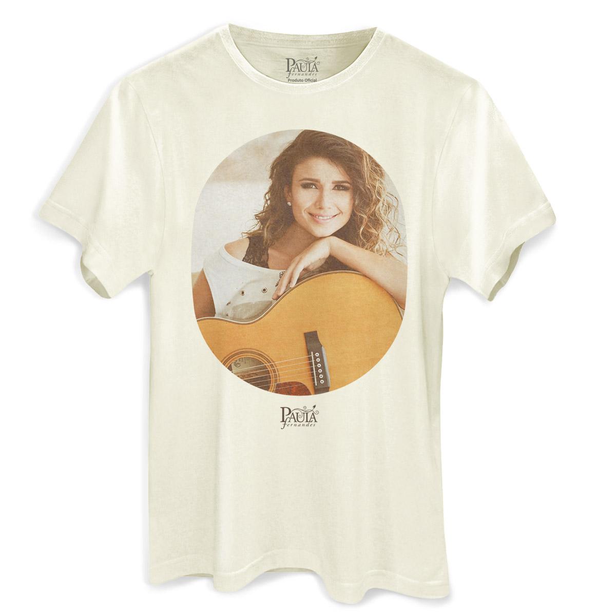 Camiseta Masculina Paula Fernandes A Paz Desse Amor