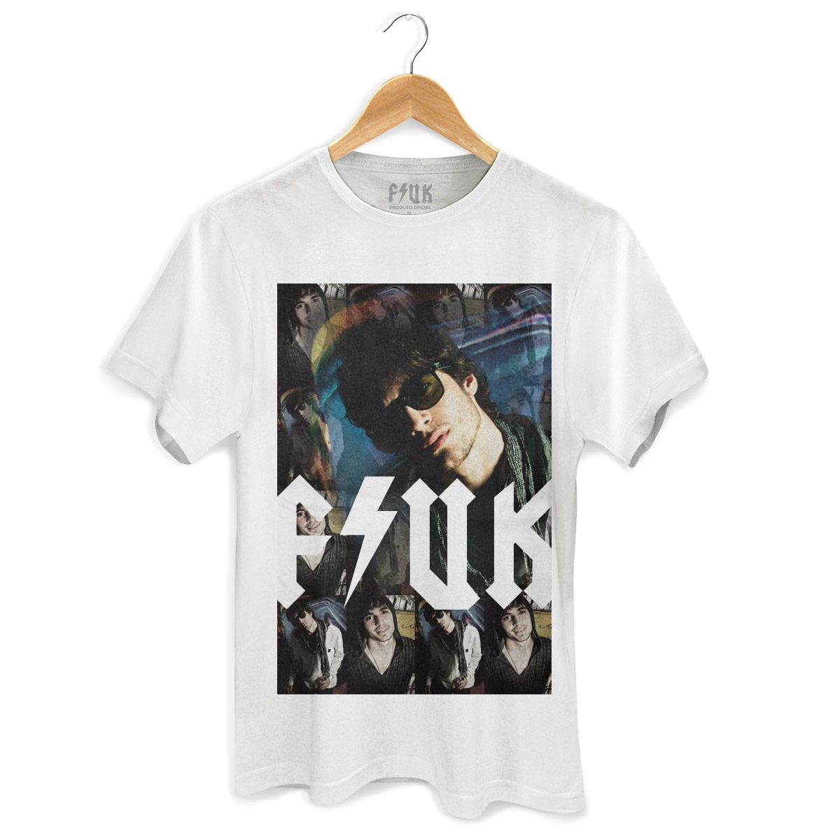 Camiseta Masculina Fiuk Pictures  Modelo 1
